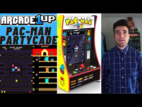 ARCADE1UP PAC-MAN 8 IN 1 PARTYCADE from Brick Rod