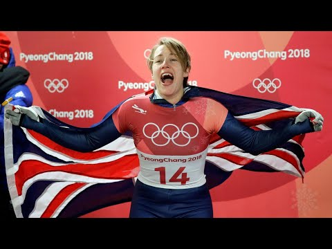 Yarnold wins second straight Olympic women's skeleton gold