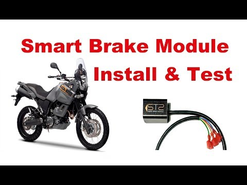 Motorcycle Smart Brake Module - Unboxing, Installation, Test and Review