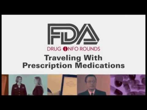 Traveling with Prescription Medications