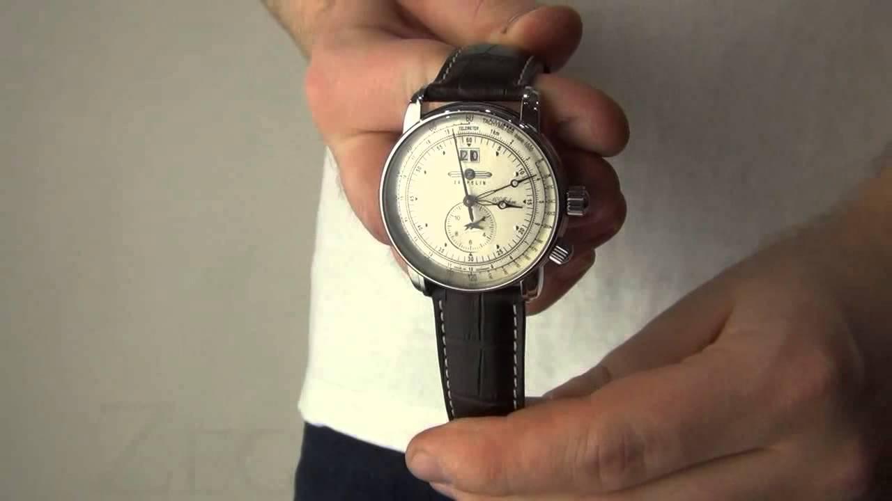 Zegarek Zeppelin 100 Years Zeppelin GMT 7640-1  2093df34a0