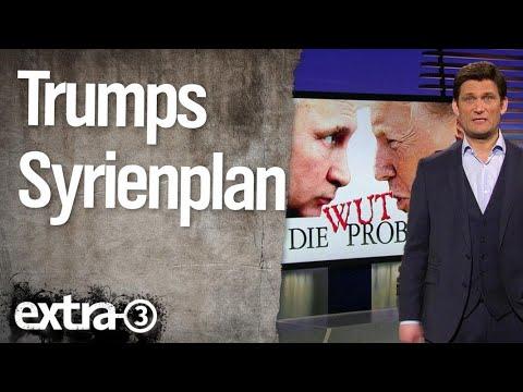 Bomben auf Syrien | extra 3 | NDR