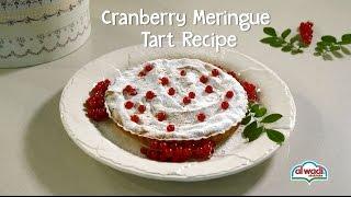 Cranberry Meringue Tart Recipe