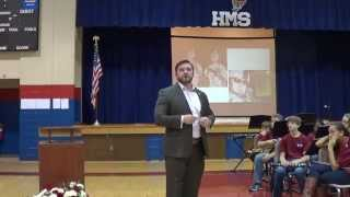 Clayton Hinchman Veterans Day Speech to Huntsville Middle School