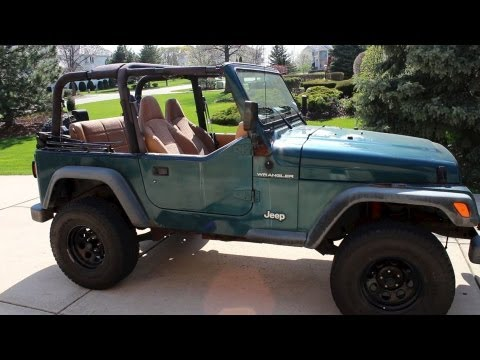 How To Take Off Jeep Wrangler Top / Roof | Remove Soft/ Hard Top | Tutorial  | Step By Step