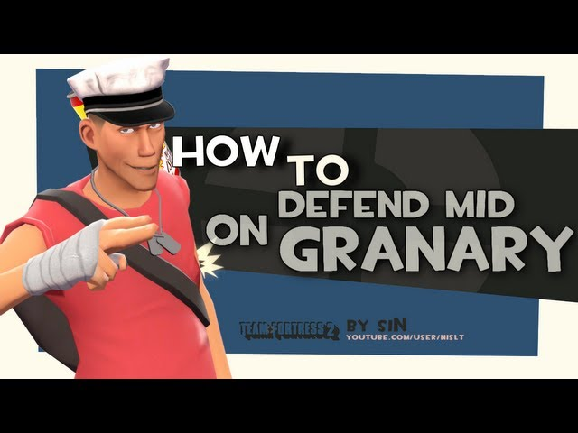 TF2: How to defend mid on granary