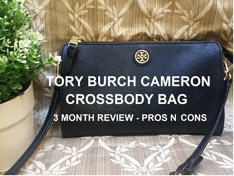 084f8199fa14 Tory Burch Cameron Crossbody - 3 Month Review - PROS N CONS - YouTube