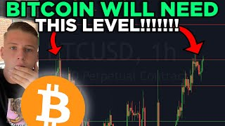 IF BITCOIN BREAKS THIS LEVEL $64K WILL BE IMMINENT!!!