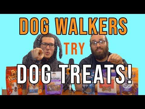 dog-walkers-try-dog-treats!!!