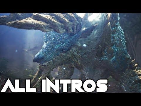Monster Hunter World: Iceborne - All Monster Intros
