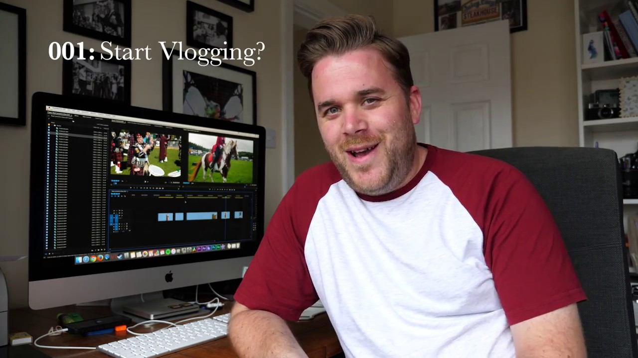how to start vlogging on youtube