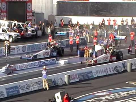 NHRA Top Fuel & Funny Car Qualifying 11/12 /08