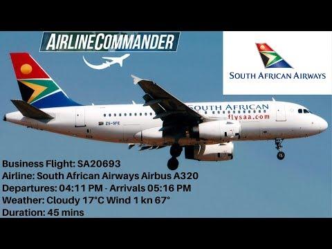 airline-commander-south-african-airways-airbus-a320-(jnb)-johannesburg-🇿🇦🛫🛬🇿🇦-(dur)-durban