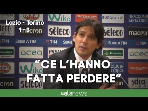 """Lazio-Torino, Inzaghi attacca: """"Ce l'hanno fatta perdere"""""""