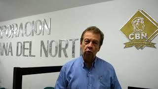 Carlos Quintero,  rector de la CBN, nos envía sus felicitaciones