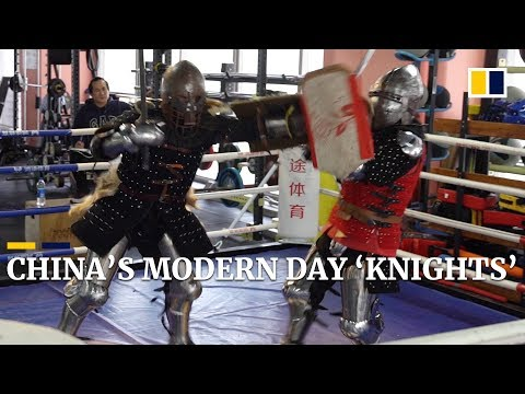 Chinese 'knights' Carving Out Place For Themselves In International Medieval Fighting League