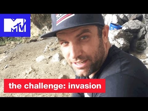 'TJ Tries Hollow Mountain' Digital Exclusive  The Challenge: Invasion  MTV