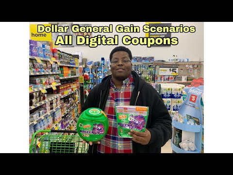 Dollar General Gain Scenarios For 12/1 - 12/7 - All Digital Coupons