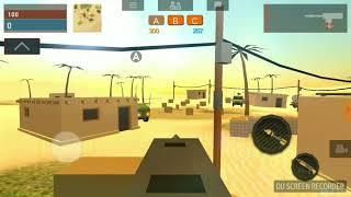 Первое видео по crazy War игра с друзьями