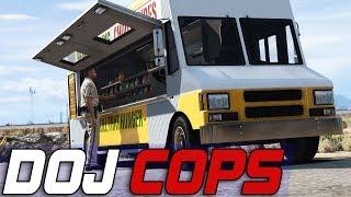 Dept. of Justice Cops #720 - Bad Food Truck Meat