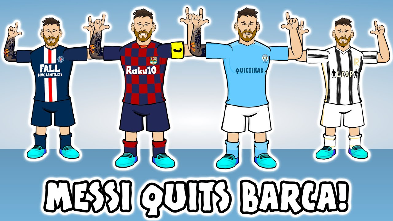 ?MESSI QUITS BARCA!? Man City? PSG? Man Utd? Juventus? (Transfer Request Song)