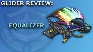 Equalizer Glider Review + Sound Showcase! ~ Fortnite Battle Royale