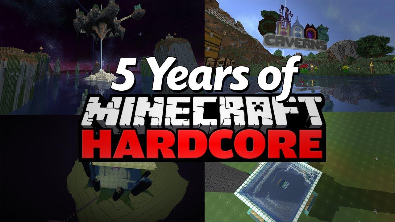 My 12 Years of Minecraft Hardcore (Montage)