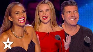 Unforgettable! FUNNIEST Comedian Auditions EVER On Got Talent ! Guaranteed To Make You Laugh!