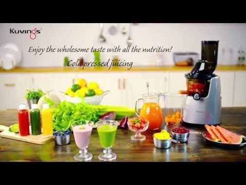 Máy ép trái cây Kuvings Whole Slow Juicer Cold pressed juicing