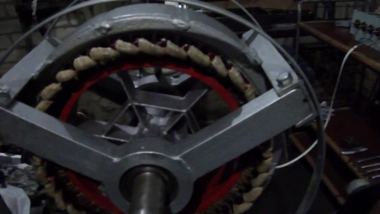 Самодельный генератор для ветрогенератора  7 кВт