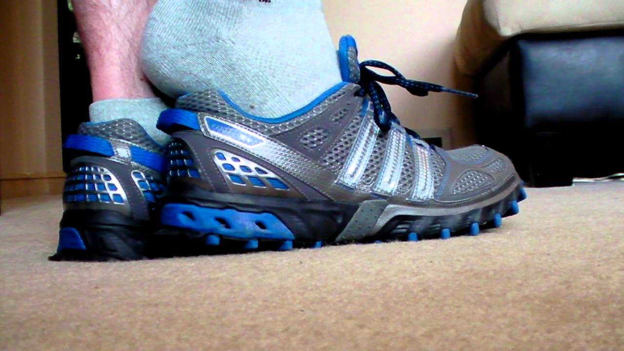 check out 1a1f3 305fa Adidas Kanadia 6 Trail Running Shoes Mens Blue