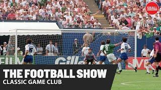 The Football Show Classic Game Club with David Meyler Vinny Perth Ireland vs Italy 94