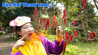 Bạn Khỉ Tham Lam – Bibi TV