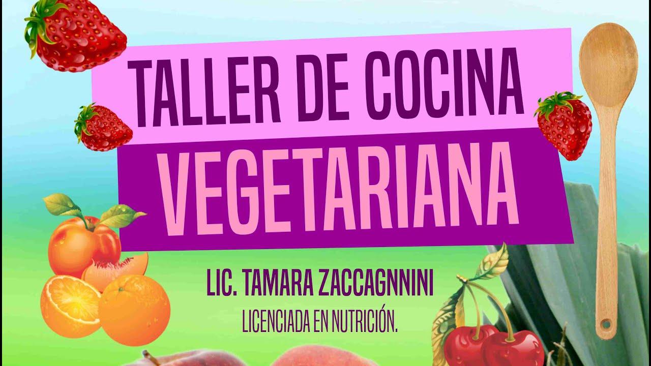 Taller de cocina vegetariana youtube for Taller de cocina teruel