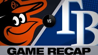 4/17/19: Rays pound the ball in 8-1 rout of Orioles