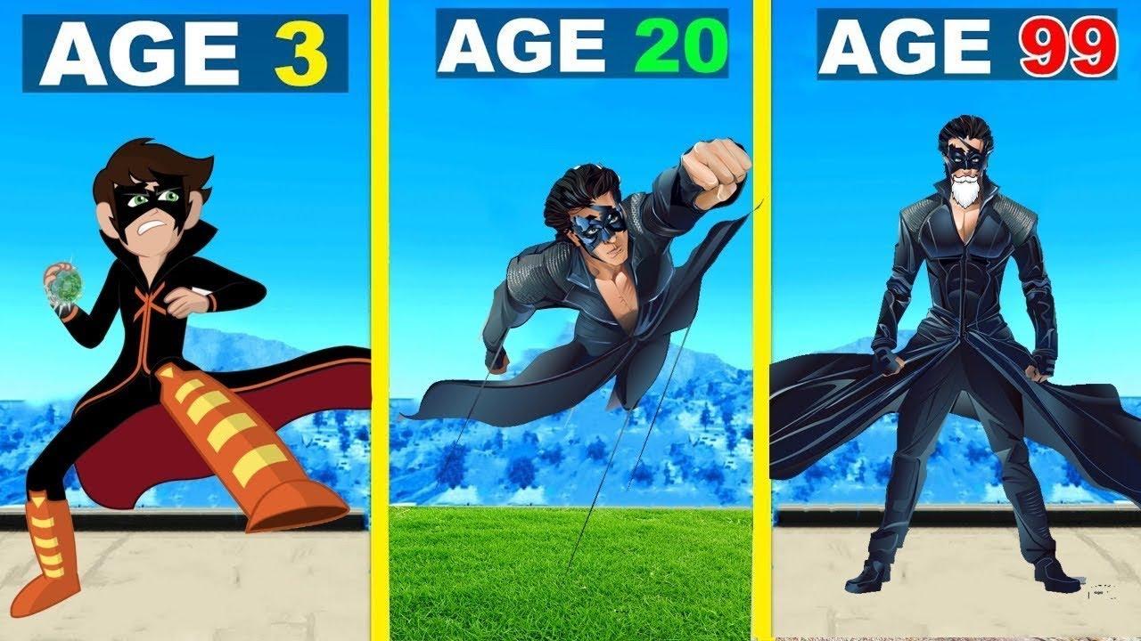 Shinchan Surviving 99 Years As KRRISH In GTA 5 Mods