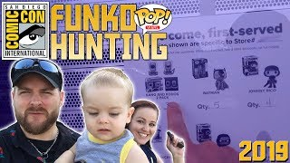 SDCC 2019 Funko Pop Hunting | The Pressure Is On! Video