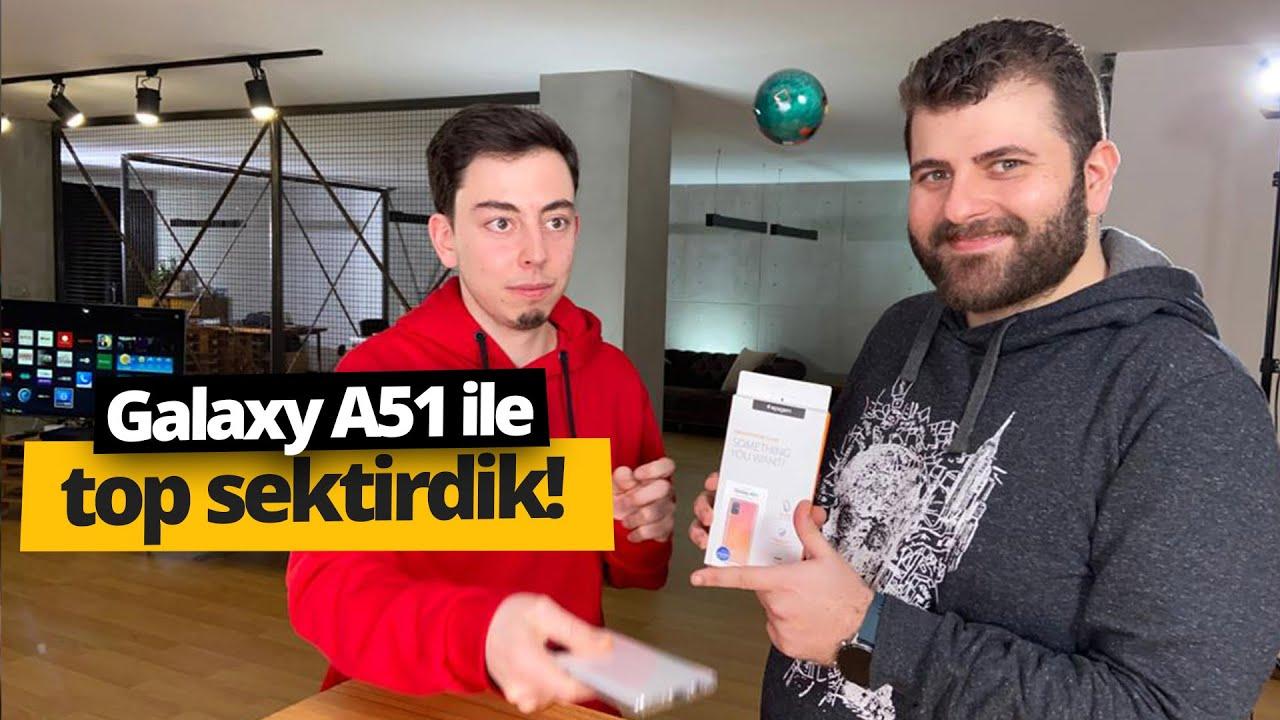 Photo of Samsung Galaxy A51'i zırhladık, mini GÜLLE sektirdik! – سامسونج