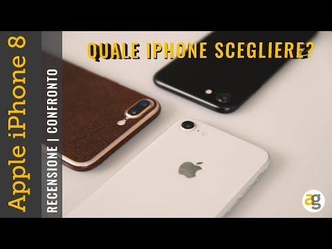 RECENSIONE iPhone 8 e CONFRONTO con iPhone 8 plus e iPhone 7