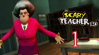 Scary Teacher 3D Chapter 1- Walkthough Android Gameplay Part 1 HD Levels 1-4