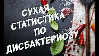 ДИСБАКТЕРИОЗ! У БОЛЕЕ 90% жителей России проблемы с КИШЕЧНИКОМ!