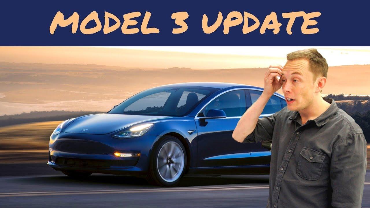 Tesla Model 3 Status Report
