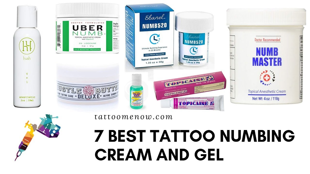 7 Best Tattoo Numbing Cream and Gel - YouTube