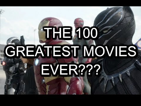 CinemaSlackers PODCAST #1: Empires 100 greatest films?
