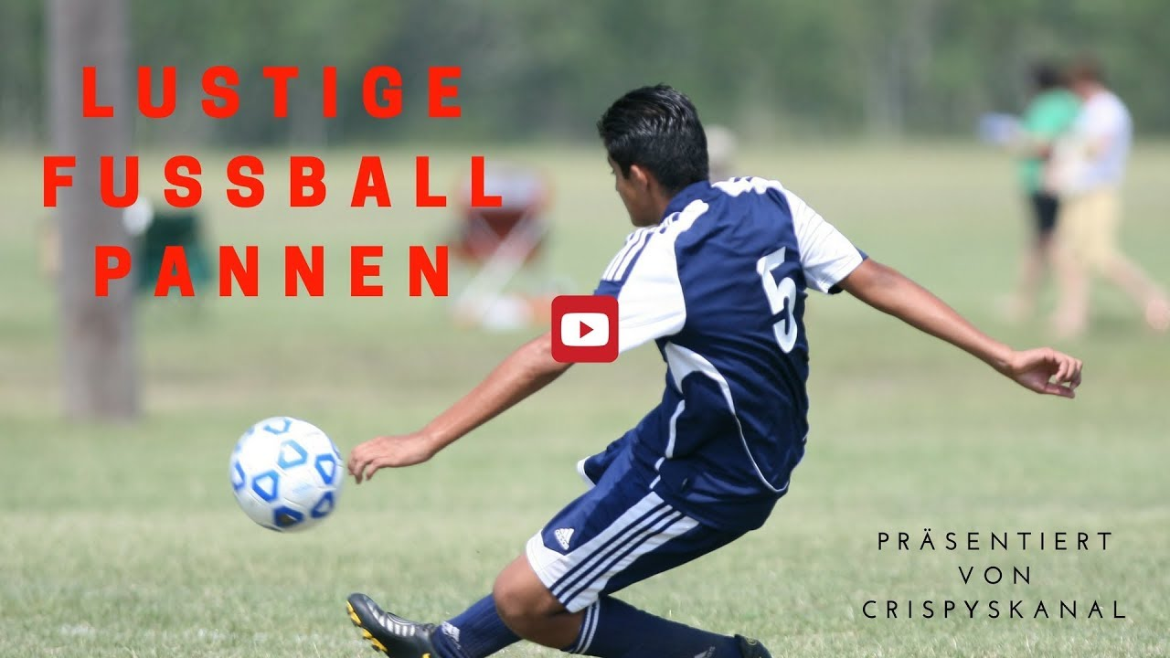 Lustige Fußball Pannen [Funny football pitches] - YouTube