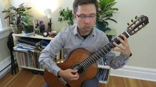 Lesson: Air On G String by Bach for Easy Guitar