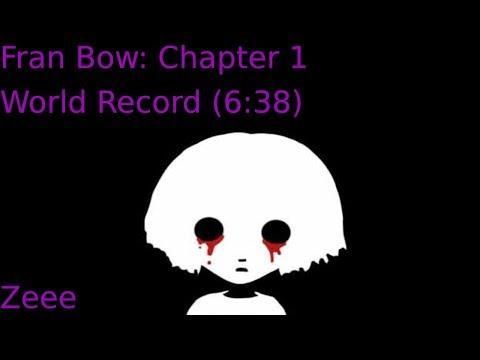 Fran Bow - Chapter 1 - Speedrun World Record (6:38)