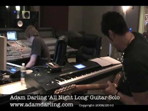 Adam Darling 'All Night Long' Solo