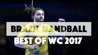 Brazil Handball Team Best Plays of WC 2017