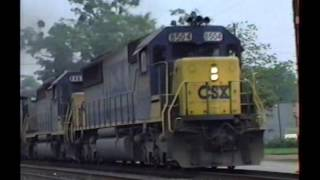 Railfan Tape 25, Part 1 Nov 15 & 18, 1991, May 26, 1992